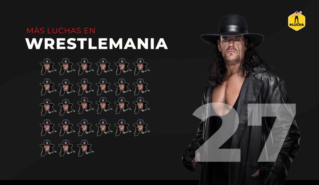 Undertaker apariciones en WM - Más Lucha