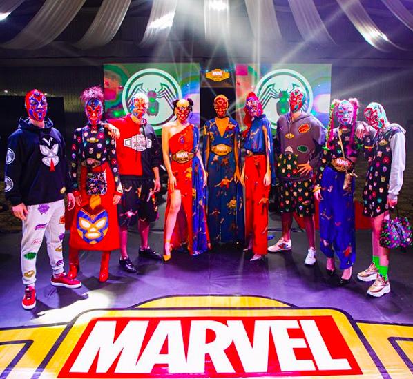 Se presentó la colección Marvel Lucha Libre Edition – Más Lucha