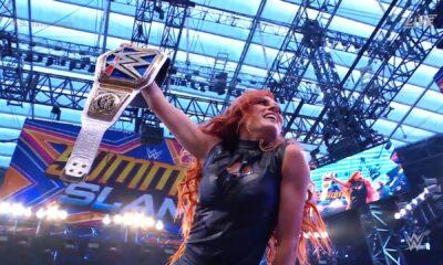 Becky Lynch regresa a WWE