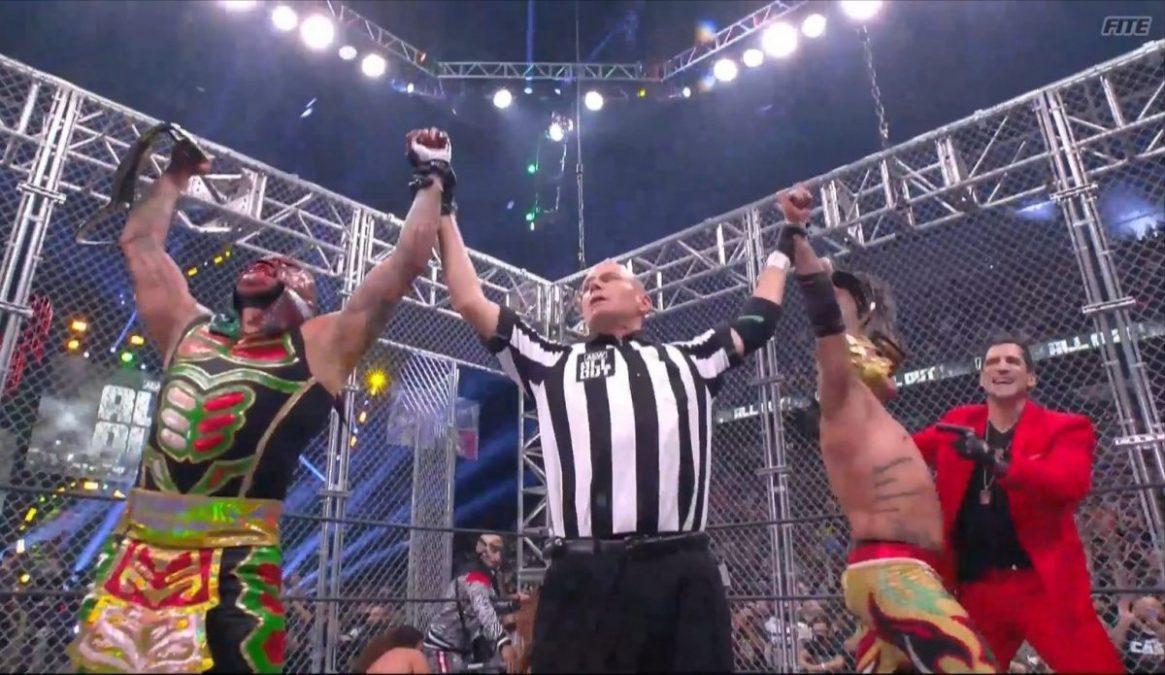 Lucha Brothers ganan el campeonato de parejas de AEW